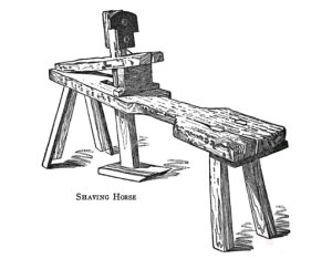 19th Century Shave Horse